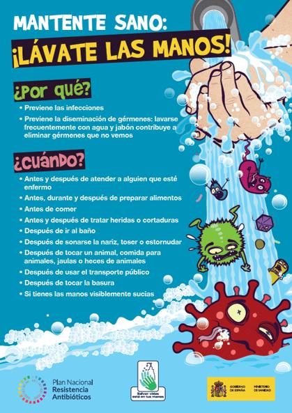 Lávate las manos (cartel)