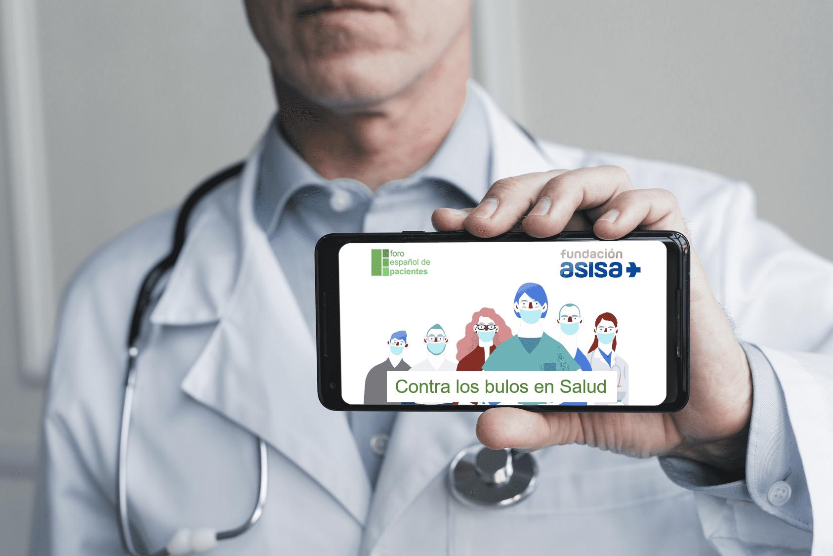 Fundacion ASISA y FEP contra los bulos en salud