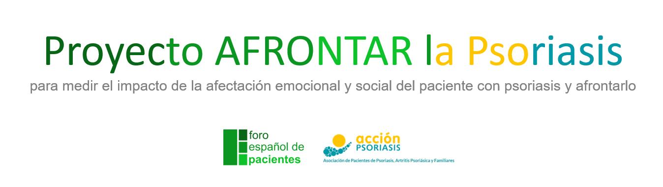 Portada Proyecto Afrontar la Psoriasis