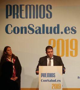 Fotografía entrega de premios Consalud.es