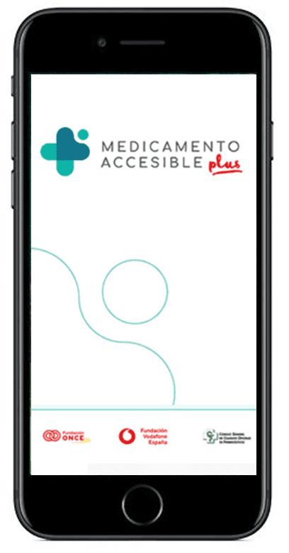 "Aplicación ""Medicamento Accesible Plus"""