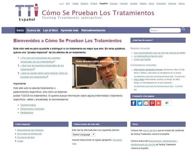 Testing Treatments Interactive (TTI)