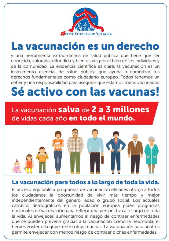 1. La vacunación es un derecho