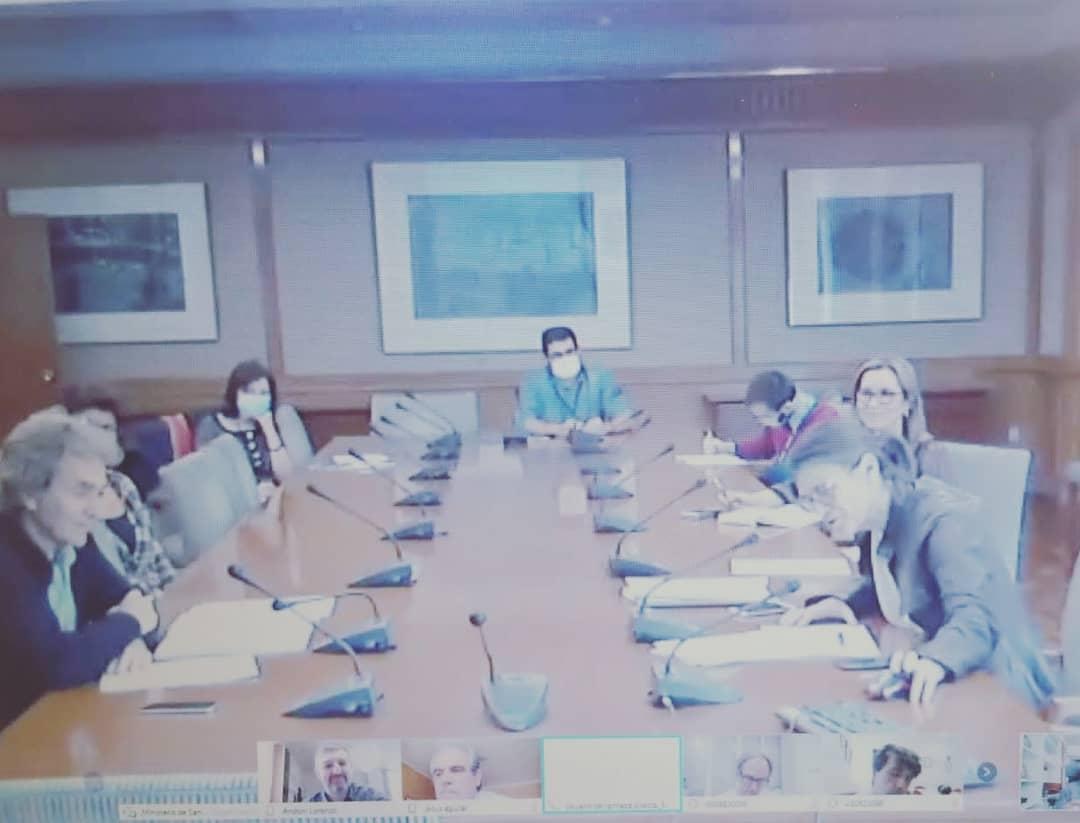 Reunión Ministerio de Sanidad y FEP