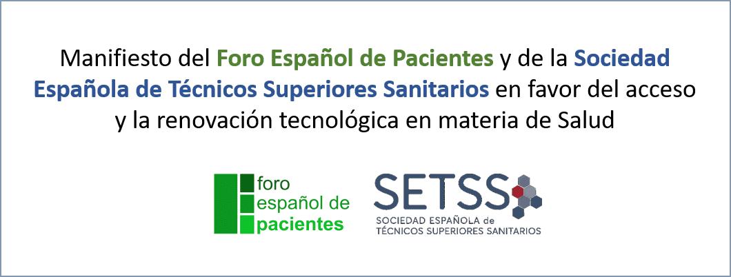 Manifiesto FEP y SETSS