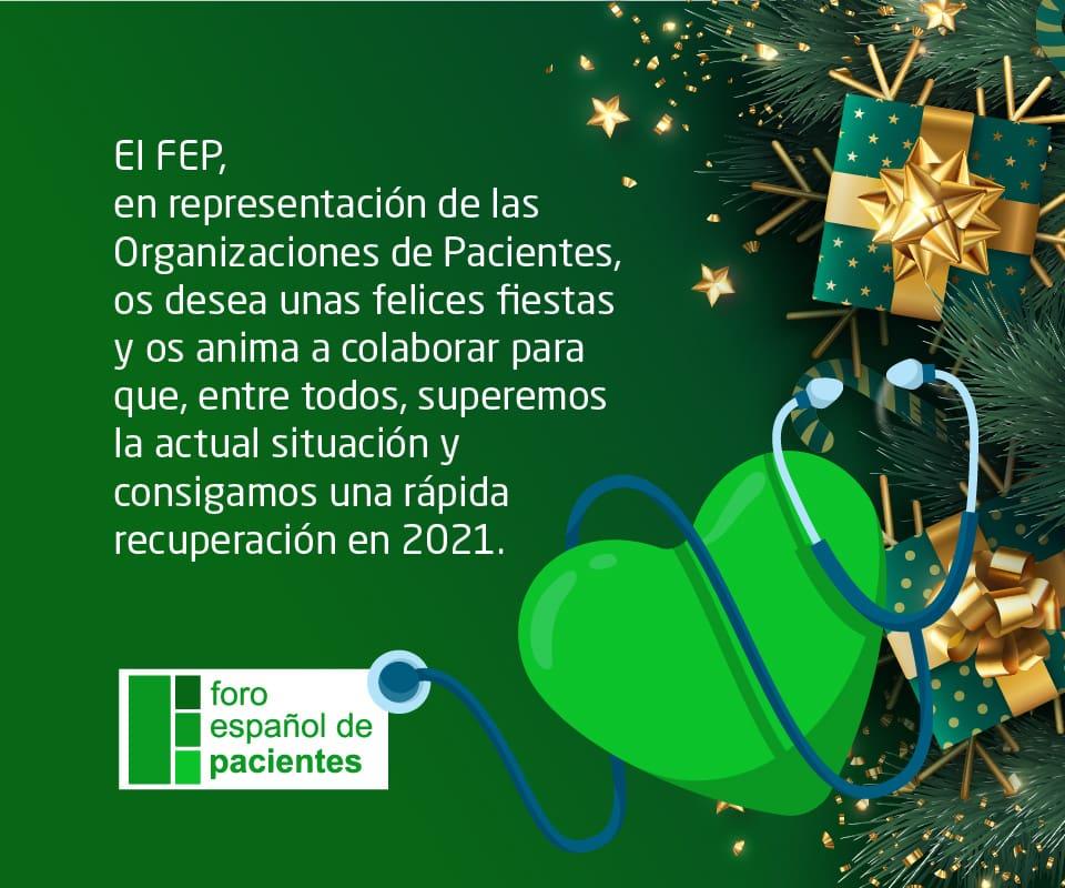 Felicitación navideña FEP
