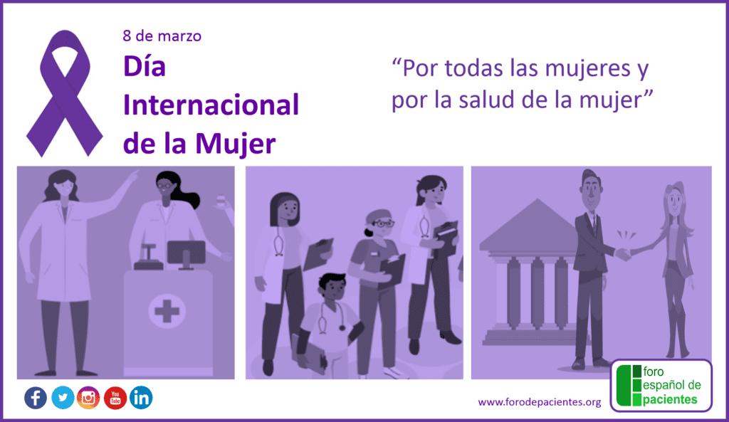 Dia Internacional de la Mujer (SALUD)