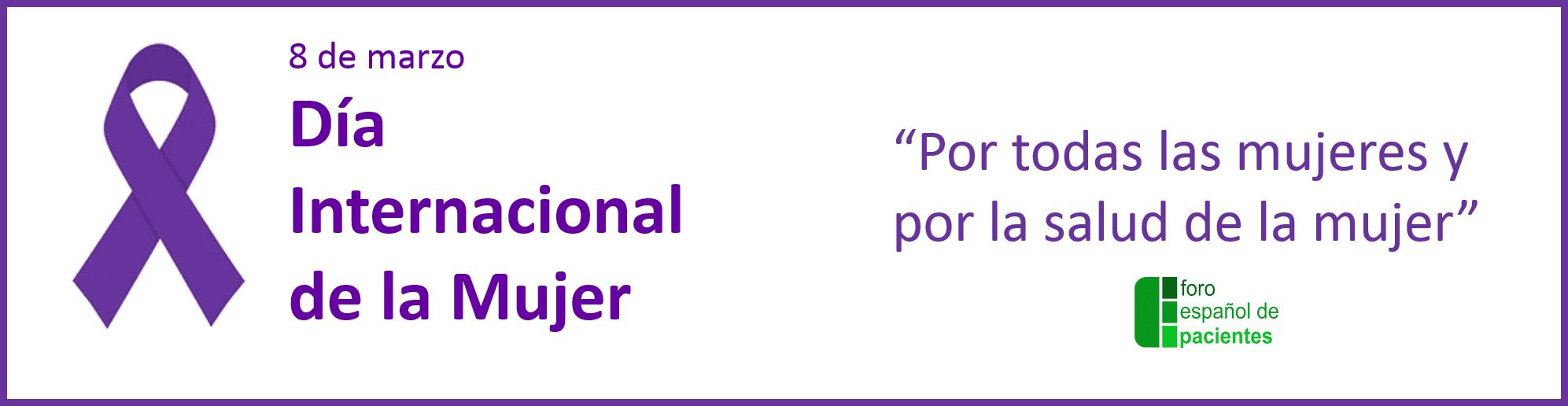 Portada WEB Dia internacional de la mujer